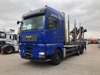 Truck MAN TGA 33.480 6x4, Penz 10Z Kran Bj 2014 Automatik