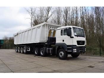Truck MAN TGS 33.400 icw 60 cbm bauxite tipper