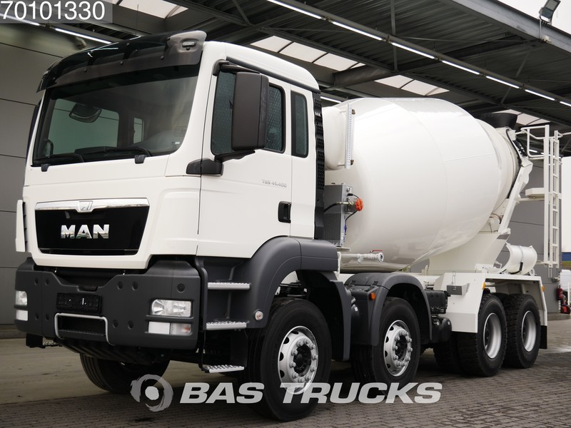 Truck MAN TGS 41 400 M 8X4 Manual Big-Axle Steel Suspension Euro 3 - Truck1  ID: 3529634