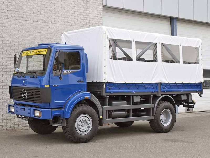 Mercedes 1017 truck from netherlands for sale at truck1 for Mercedes benz truck 4x4