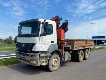 Truck Mercedes-Benz AXOR 3340 platform with crane