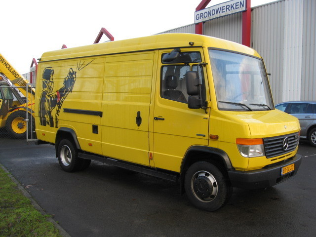 mercedes benz vario 816 euro 4 kastenwagen truck from. Black Bedroom Furniture Sets. Home Design Ideas
