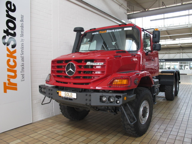 mercedes benz zetros 2733 a 6x6 truck from germany for