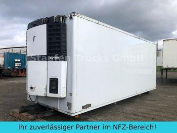 Refrigerator truck Chereau Fleischkoffer Rohrbahnen TK-SL 100  7 m
