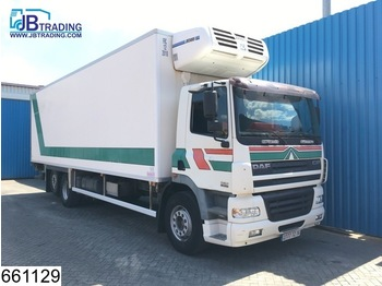 Refrigerator truck DAF 85 CF 340 Manual, Retarder, Airco, Cool engine not good, Analoge tachograaf: picture 1