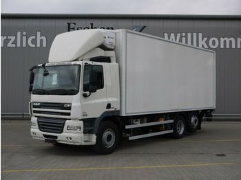 DAF CF 85.410 ATe, Thermo King T 800, Doppelstock  - refrigerator truck