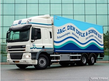 DAF FAN CF85.360 6X2 EEV SPACE CAB MANUAL GEARBOX TOP CONDITION - refrigerator truck