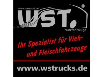 DAF XF  105/410 Schmitz  Tiefkühl Rohrbahn Carrier  - refrigerator truck
