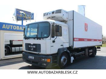 Refrigerator truck MAN 19.314 MANUÁL EURO III THERMO KING TS-600 /380W