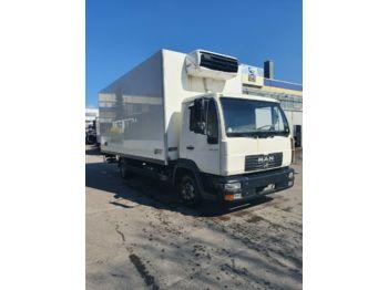 Refrigerator truck MAN LE 8.180 Tiefkühlkoffer Xarios 500