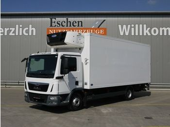 Refrigerator truck MAN TGL 12.180, Carrier Supra 1250 MT, Diesel/Netz