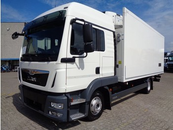 Refrigerator truck MAN TGL 12 220 + CARRIER SUPRA 750 + EURO 6 + REMOVABLE WALL + NL TRUCK
