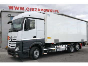 Refrigerator truck MERCEDES-BENZ ACTROS 6x2 2543 BDF E6 REFRIGERATOR KRONE THERMOKING DOUBLE STOC