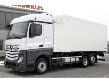 MERCEDES-BENZ ACTROS 6x2 2545 BDF E6 REFRIGERATOR THERMOKING LIKE NEW! - refrigerator truck