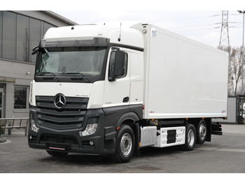 MERCEDES-BENZ MEAT HOOK REFRIGERATOR ACTROS 2545 E6 THERMOKING - refrigerator truck