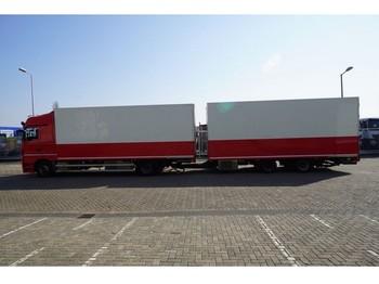 Refrigerator truck Mercedes-Benz ACTROS 1844 FRIGO COMBI WITH BURG TRAILER: picture 1