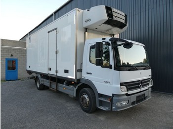 Refrigerator truck Mercedes-Benz ATEGO 1222 CARRIER SUPRA MULTITEMPERATURE EURO 5 3 ROOMS/CHAMBRES