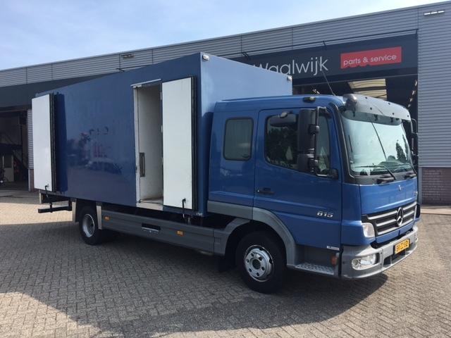 mercedes benz atego 815 fridge truck manual new condition euro3 rh truck1 eu Mercedes-Benz Atego 2628 Atego Transmission Clutch