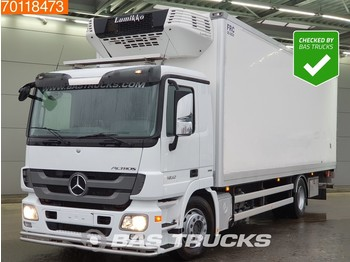 Refrigerator truck Mercedes-Benz Actros 1832 LL 4X2 Ladebordwand Euro 5