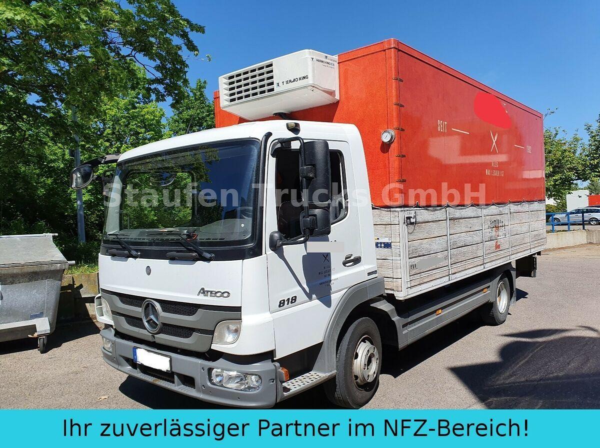 refrigerator truck Mercedes-Benz Atego 818  Kühl Frischd. LBW Th King V500 MAX