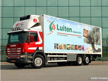 Scania P114 GB 6X2 4 340 KOEL VRIES CARRIER SUPRA 750 - refrigerator truck