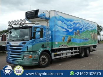 Refrigerator truck Scania P380 chereau, carrier sup