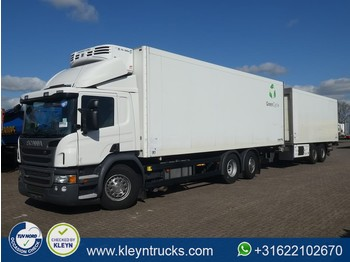 Scania P410 schmitz thermo king - refrigerator truck
