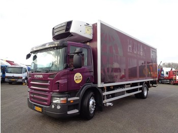 Refrigerator truck Scania P 230 + Lift + 3 PEDALS + Carrier Supra 950 Mt