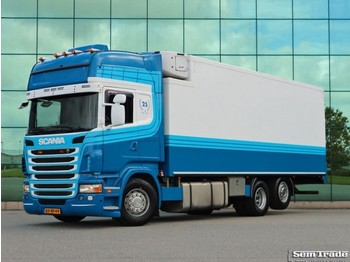 Scania R480 6X2 EURO 5 RETARDER ISOLATED BOX / SIDE DOORS - refrigerator truck