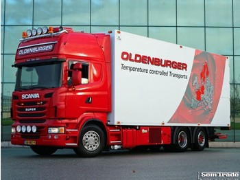 Scania R480 6X2 EURO 6 MANUAL RETARDER THERMO KING - refrigerator truck