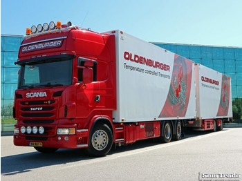 Scania R480 6X2 EURO 6 MANUAL RETARDER THERMO KING 50 CC COMBI - refrigerator truck