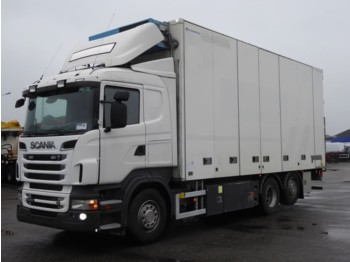 Refrigerator truck Scania R500 6X2*4 MANUAL RETARDE