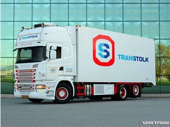 Refrigerator truck Scania R500 V8 6X2 E5 RETARDER CARRIER SUPRA FRIGO DEEP FREEZE
