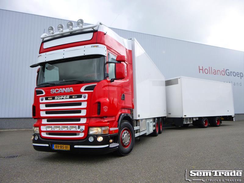 Verrassend Scania R500 V8 EURO 5 6X2 MANUAL RETARDER COMPLETE 2008 COMBI FROM II-12