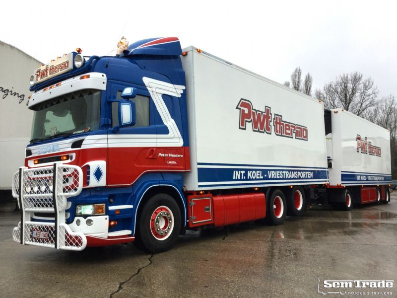 Populaire Scania SCANIA R620 V8 6X2 SPECIAL COMBI refrigerator truck from  RI79