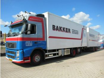 Volvo FH 460 Globe XL Manual Kuhlkoffer mit Anhanger  - refrigerator truck