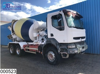 Renault Kerax 300 6x4, 7000 Liter, Steel suspension, Manual, Hub reduction - truck