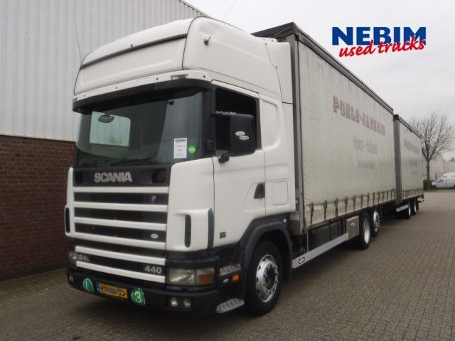 Terrific Scania 124 L 440 Hpi 6X2T Euro 3 Semi Trailer Truck From Wiring Cloud Staixuggs Outletorg