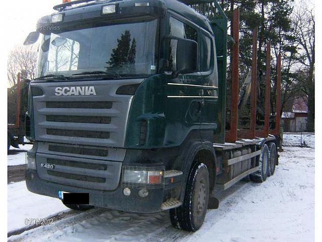 Truck Scania R420,6x4 - Truck1 ID: 919807