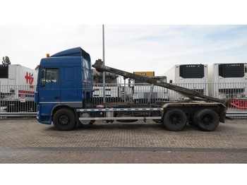 DAF XF 95.430 6X2 CABLE SYSTEM - skip loader truck