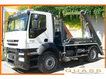 Skip loader truck Iveco Stralis AD190S33 4x2 /Euro 5 EEV/TÜV/Hyvalift: picture 1