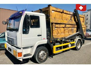 MAN 14.285  - skip loader truck