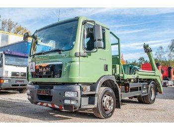 Skip loader truck MAN TGM02 15.290 4x2 BL Meiller Absetzkipper