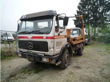 Skip loader truck MERCEDES BENZ 1625 K