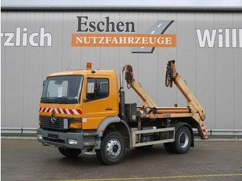 Skip loader truck Mercedes-Benz 1828 Atego, 4x2, Meiller AK 12 M