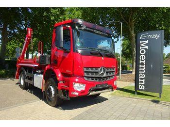 Skip loader truck Mercedes-Benz Arocs 1832 Euro 6