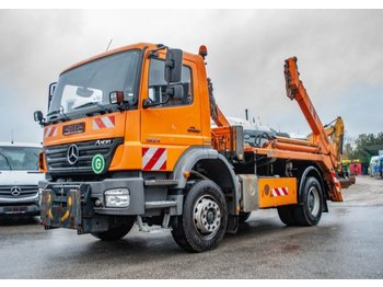Skip loader truck Mercedes-Benz Axor  1824K AK 12 MT LKW F.ATL