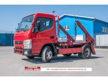 Skip loader truck Mitsubishi Fuso Canter Meier Ratio 4T Teleskop Tüv NEU