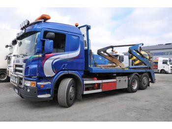 Skip loader truck SCANIA P380 Liftdumper