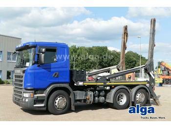 Skip loader truck Scania G 490 LB6x2 4HNA, Euro 6, VDL, Retarder, 490PS